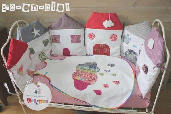 Как самому сделать бортики для детской кроватки